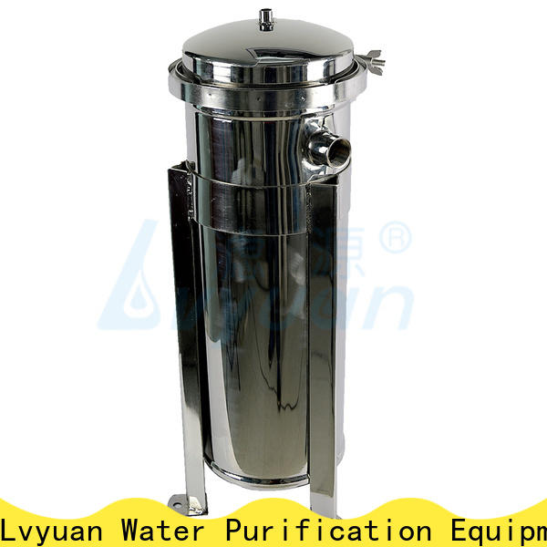 Lvyuan stainless steel filter housing manufacturers with core for industry