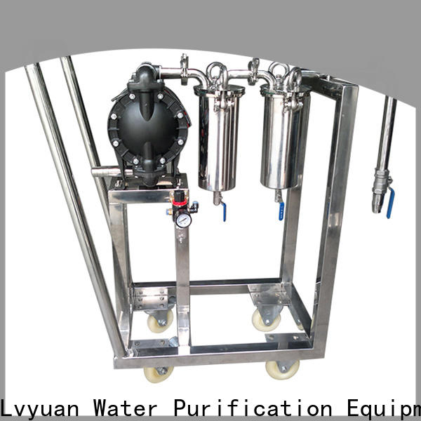 efficient stainless steel bag filter housing rod for sea water treatment