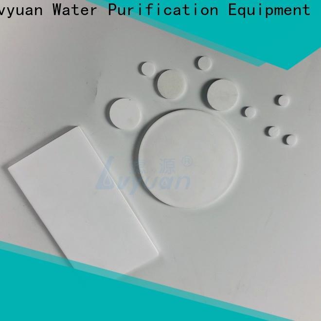 Lvyuan block sintered powder metal filter supplier for sea water desalination