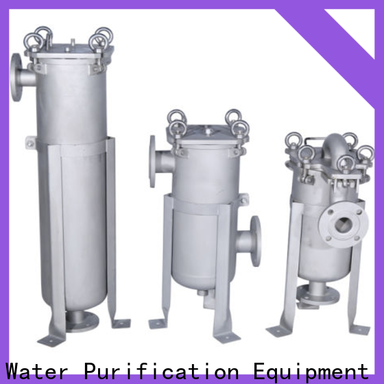 Lvyuan stainless steel cartridge filter housing with fin end cap for sea water desalination