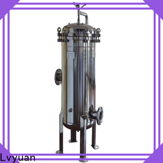 Lvyuan high end stainless steel filter housing manufacturer for sea water treatment