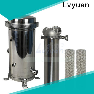 high end stainless steel filter housing manufacturers with core for oil fuel