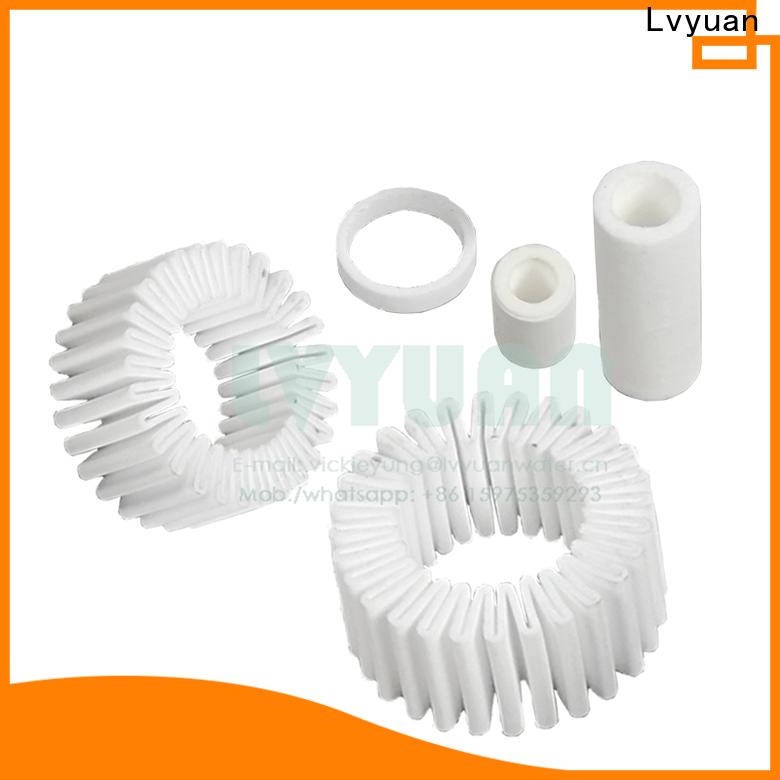 Lvyuan porous sintered ss filter manufacturer for sea water desalination