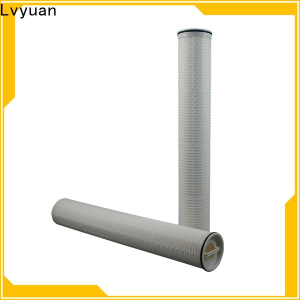 Lvyuan high flow water filter cartridge replacement for sea water desalination