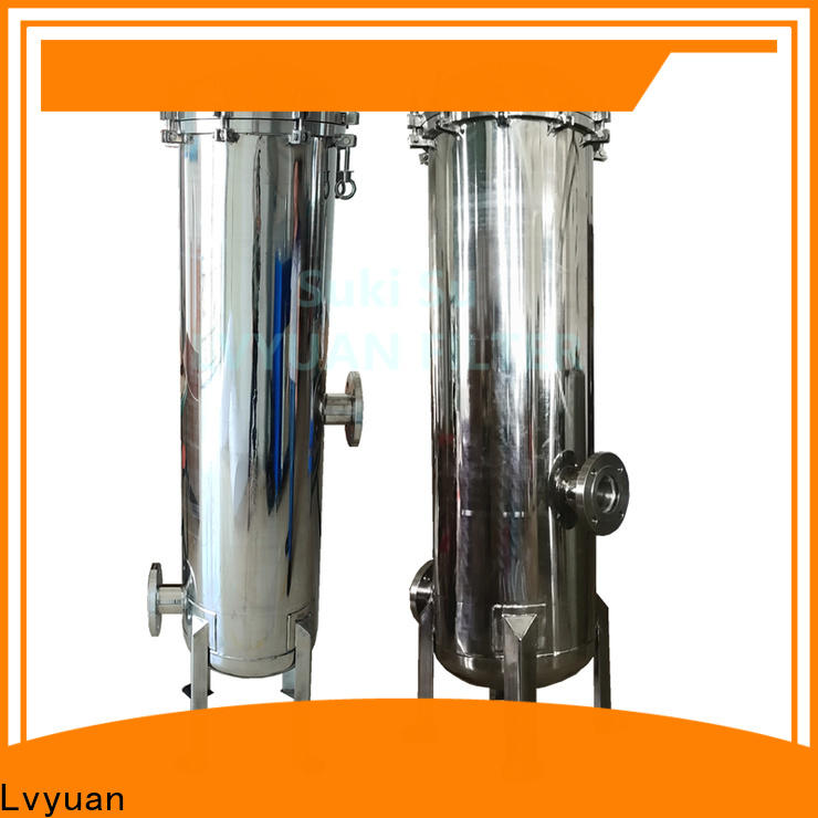 Lvyuan stainless steel bag filter housing manufacturer for sea water treatment