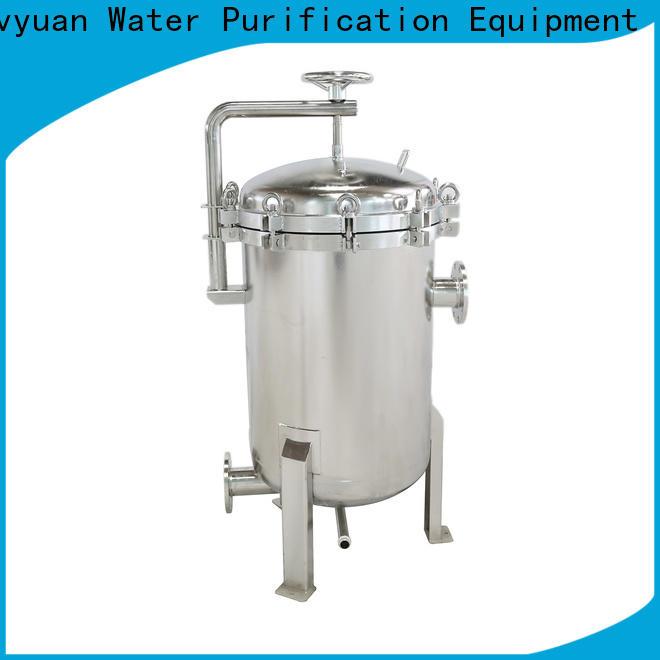 Lvyuan professional stainless steel cartridge filter housing housing for sea water desalination