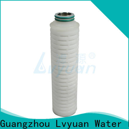 Lvyuan stainless steel water filter cartridge manufacturer for sea water desalination