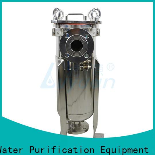 Lvyuan ss bag filter housing manufacturer for oil fuel