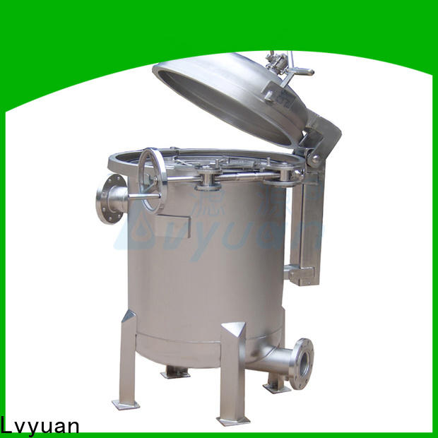 Lvyuan best stainless steel cartridge filter housing manufacturer for sea water treatment