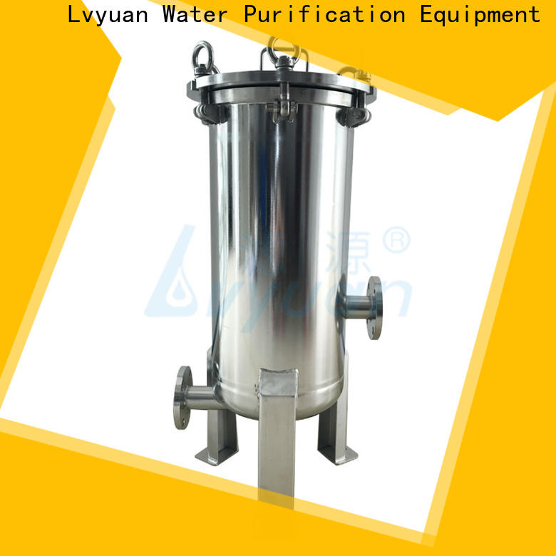 best stainless steel filter housing with fin end cap for oil fuel