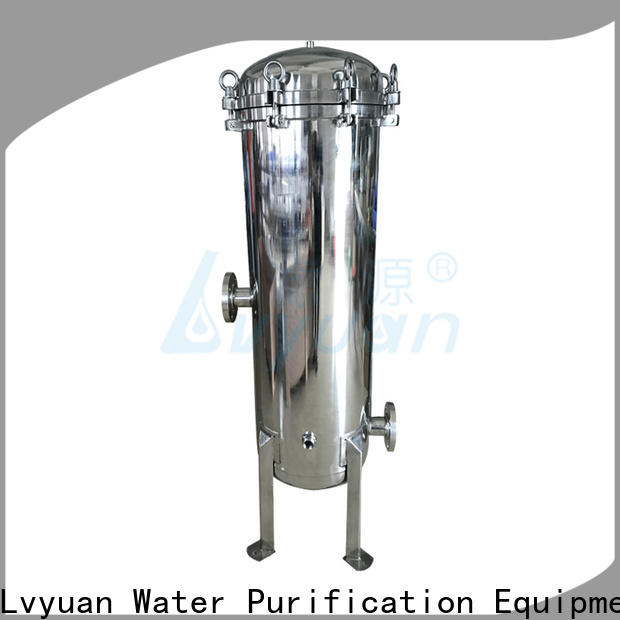 Lvyuan ss bag filter housing with fin end cap for industry