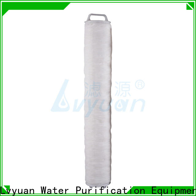 Lvyuan high flow water filter cartridge manufacturer for sea water desalination