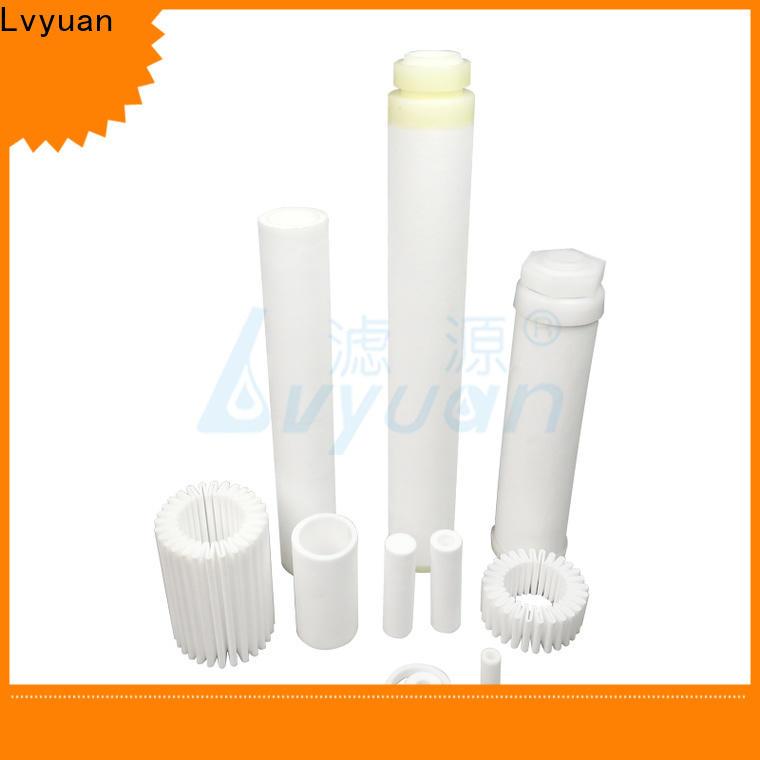 Lvyuan sintered metal filter rod for food and beverage