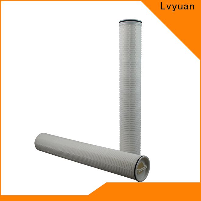 high end high flow water filter cartridge supplier for sea water desalination