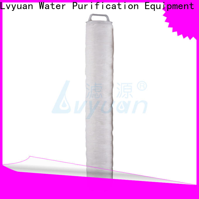 safe high flow water filter cartridge supplier for industry
