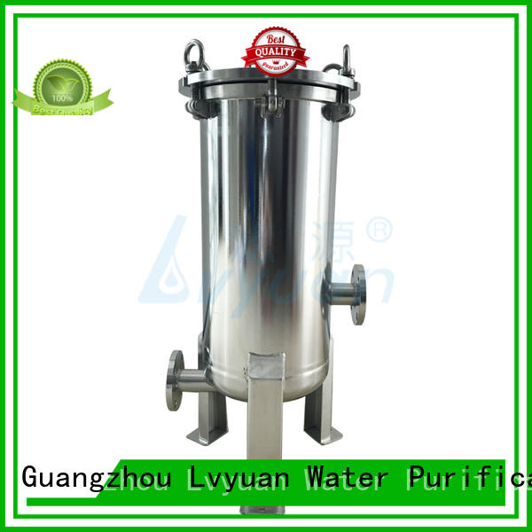 titanium 20 inch water filter housing rod for industry