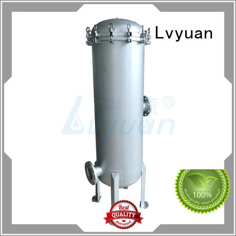 Lvyuan stainless steel bag filter housing rod for oil fuel