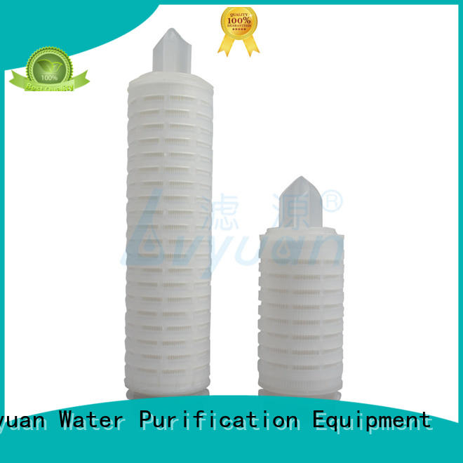 Lvyuan pes pleated filter element manufacturer for food and beverage