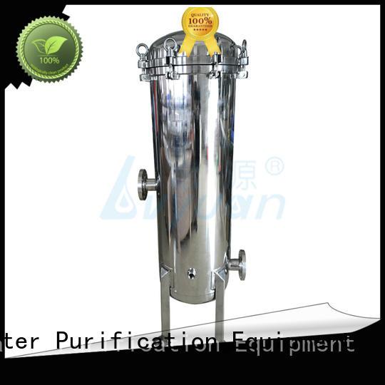 Lvyuan best ss cartridge filter housing housing for sea water desalination