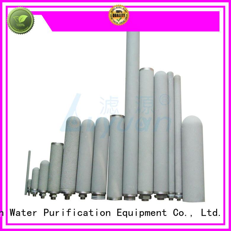 Lvyuan block sintered filter cartridge filtration