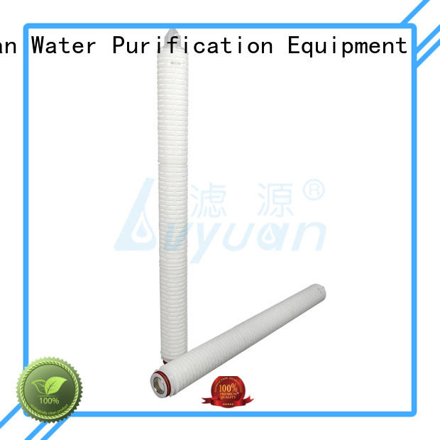 hot sale pleated filter element best for diagnostics Lvyuan