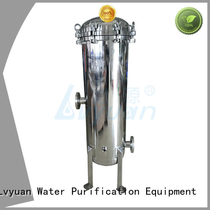 ss316L material 30 inch stainless water cartridges filter housing