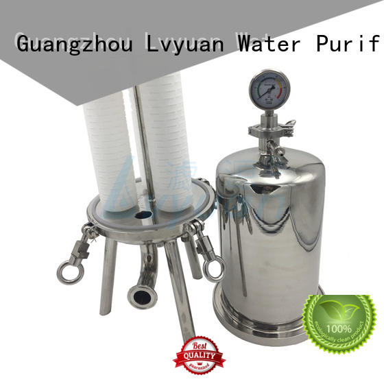 stainless water filter housing efficient for sea water desalination Lvyuan