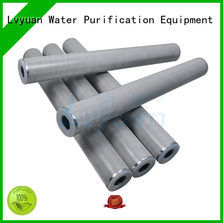 Lvyuan block sintered metal filter rod for industry