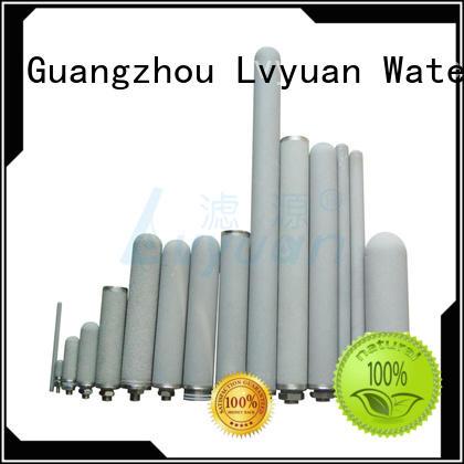 best sintered metal filter cartridge supplier for sea water desalination Lvyuan