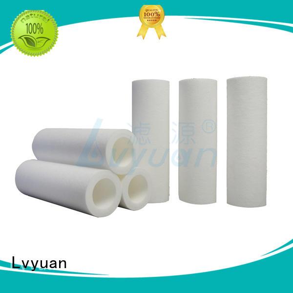 melt blown polypropylene filter for sea water desalination Lvyuan