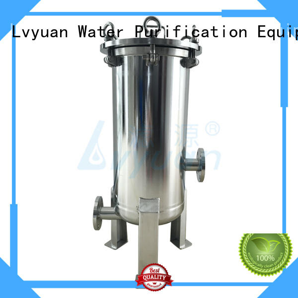 porous ss cartridge filter housing with core for oil fuel