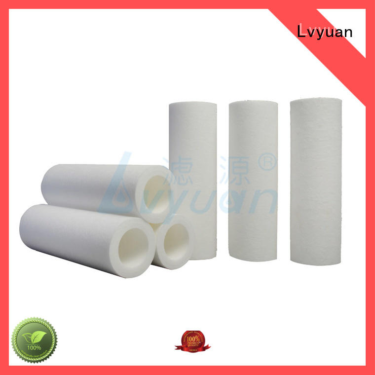 Lvyuan Brand filter  polypropylene factory