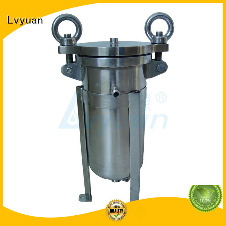 professional stainless steel filter housing manufacturers with fin end cap for sea water desalination