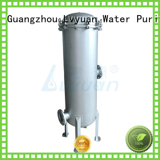 Lvyuan stainless steel filter housing with core for sea water treatment