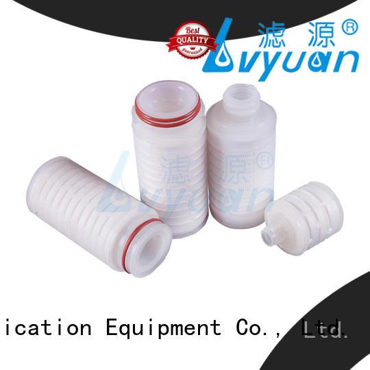 Lvyuan pleated filter manufacturer for food and beverage