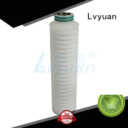Lvyuan professional water filter cartridge manufacturer for sea water desalination
