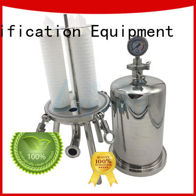 titanium ss filter housing with core for oil fuel