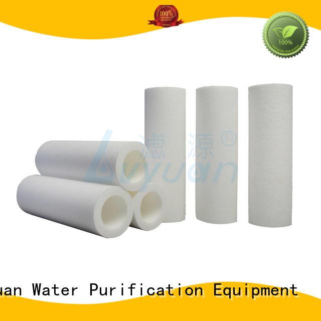professional melt blown polypropylene filter supplier for sea water desalination Lvyuan