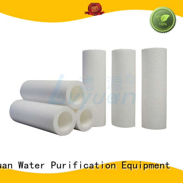 professional melt blown polypropylene filter supplier for sea water desalination Lvyuan