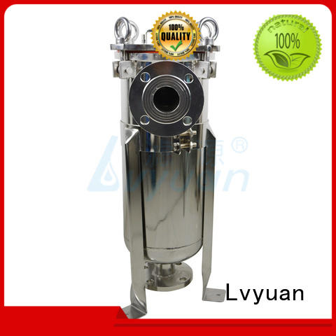 Lvyuan stainless stainless water filter housing filter treatment