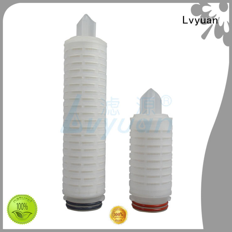 ptfe pleated filter element replacement for sea water desalination