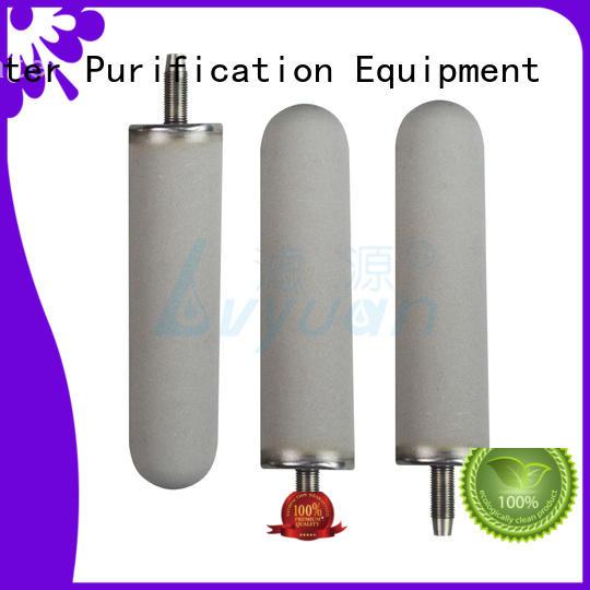 Lvyuan sintered plastic filter manufacturer for food and beverage