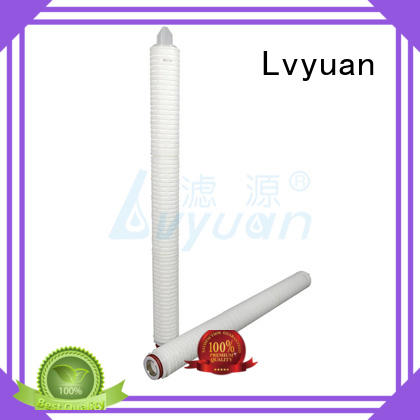 Lvyuan membrane pleated filter manufacturers replacement for industry