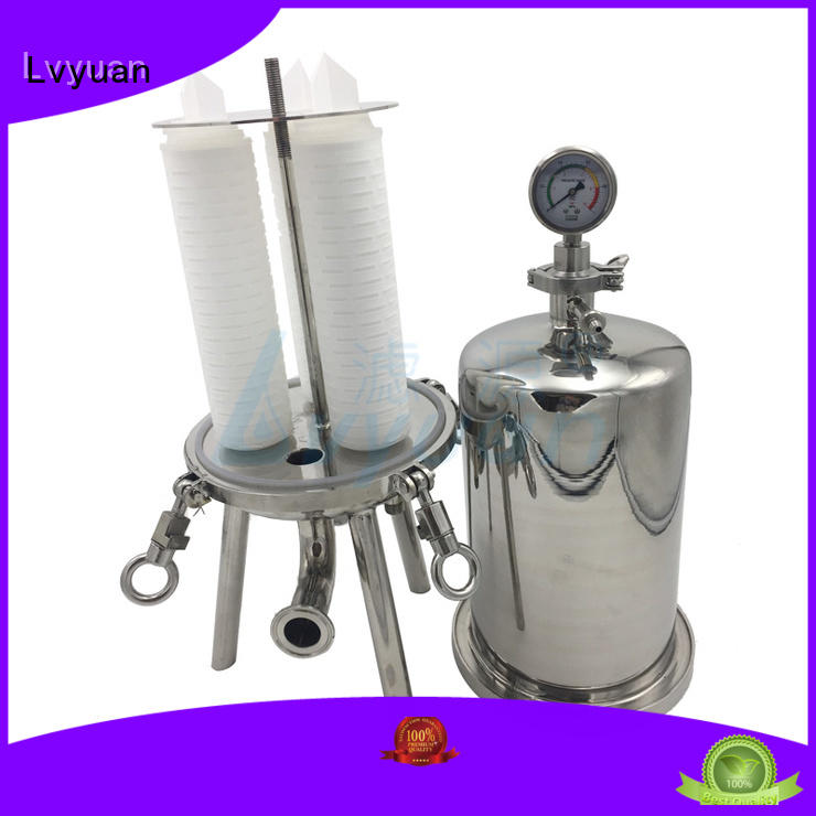 Lvyuan titanium stainless steel filter housing manufacturers housing for food and beverage