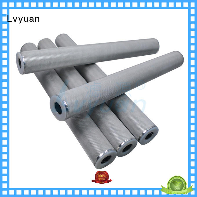 SS Sintered Filter Cartridge metal mesh filter Suppliers