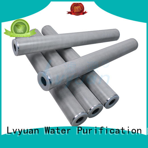 best sintered stainless steel filter rod for industry Lvyuan