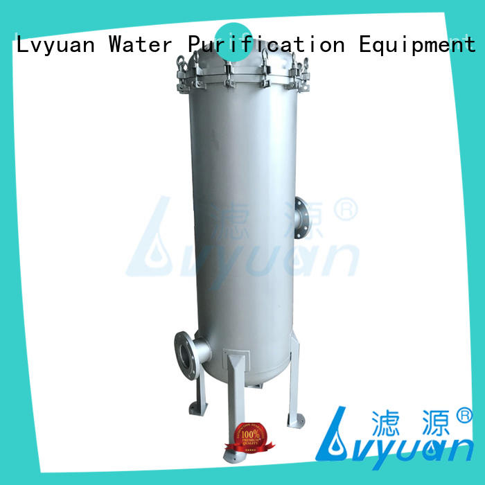 Lvyuan professional 20 inch water filter housing efficient for industry