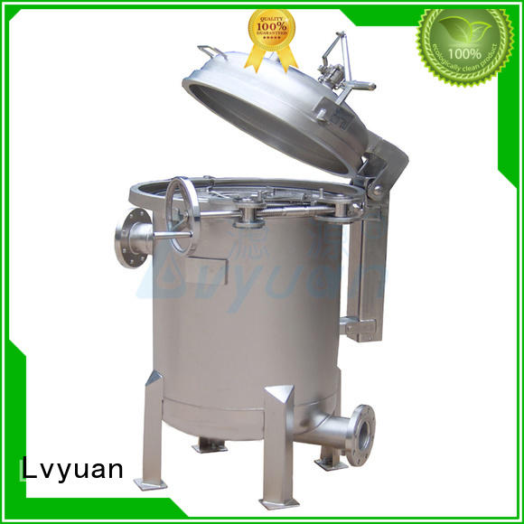 Lvyuan ss bag filter housing rod for food and beverage