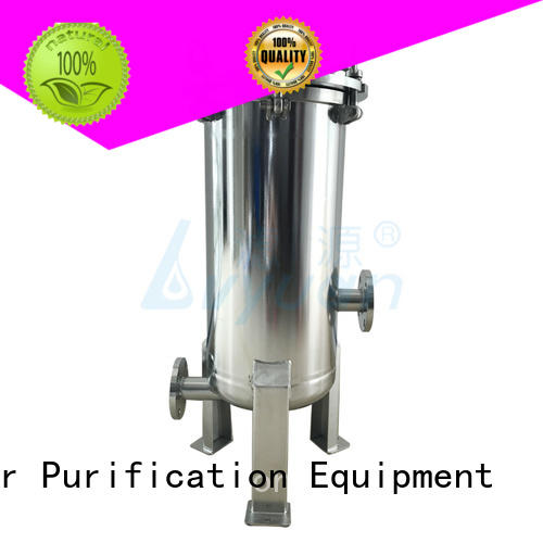 Lvyuan titanium ss cartridge filter housing with core for sea water desalination