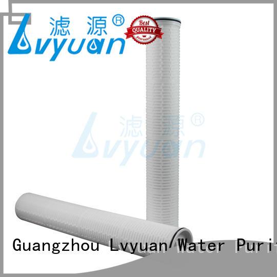 Lvyuan best high flow inline water filter for industry